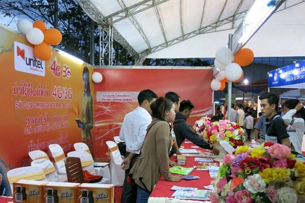 越南货在老挝的知名度将日益扩大 hinh anh 1
