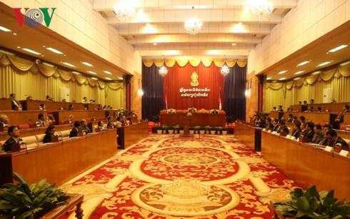 柬埔寨参议院通过四部选举法修正案 hinh anh 1