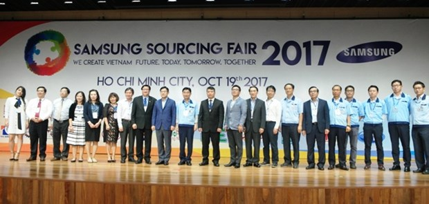 越南企业努力参与全球供应链 hinh anh 1