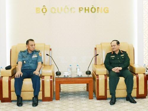 越南军队和印尼军队加强战略研究合作 hinh anh 1