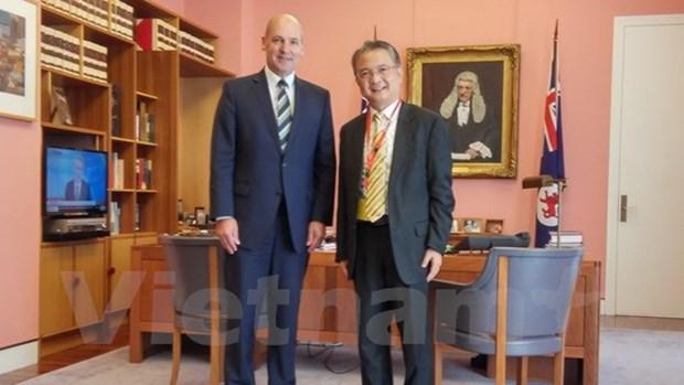 澳大利亚高度评价越澳两国国会合作 hinh anh 1