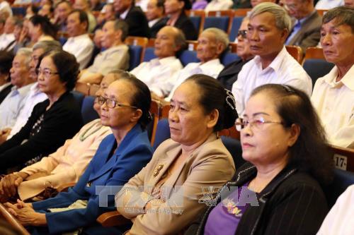 阮春福出席广南—岘港特区区委成立50周年纪念典礼 hinh anh 2