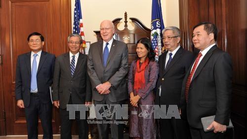 越南国防部副部长阮志咏上将对2017年越美国防政策对话给予积极评价 hinh anh 1
