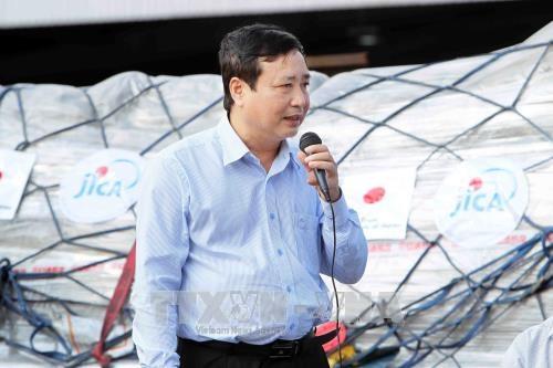 越南接受由日本政府提供的紧急援助物资 hinh anh 2