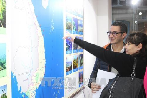越南海洋与岛屿展览会在法国首都巴黎举行 hinh anh 2