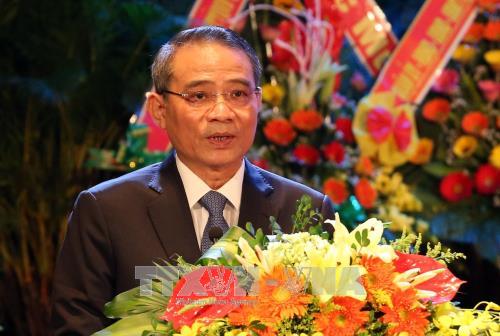 阮春福出席广南—岘港特区区委成立50周年纪念典礼 hinh anh 3