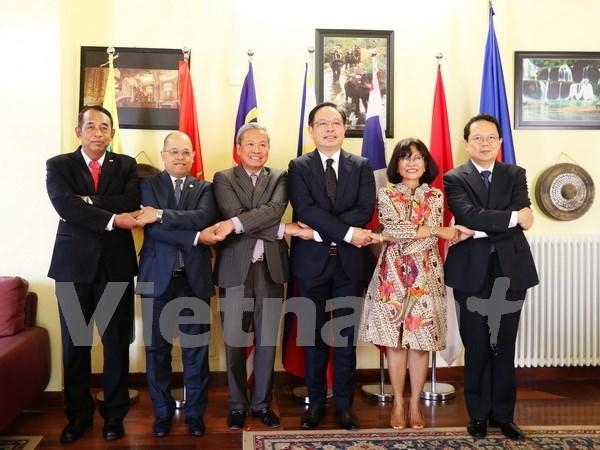 东盟罗马委员会为推动东盟与欧盟的合作做出努力 hinh anh 1