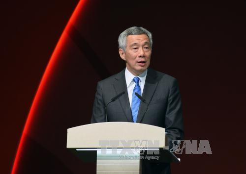 新加坡总理李显龙访问美国 hinh anh 1