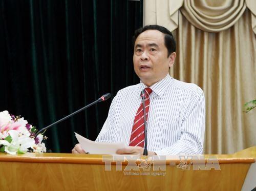 越南祖国阵线中央委员会主席陈青敏向巴哈伊教信徒致贺信 hinh anh 1