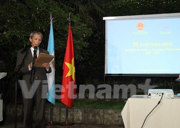 阿根廷越南文化院架起越阿两国友谊之桥 hinh anh 2
