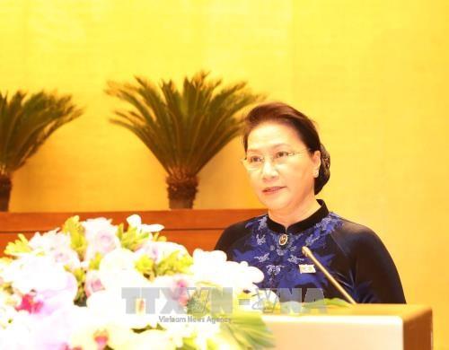 越南第十四届国会第四次会议今日开幕 hinh anh 2