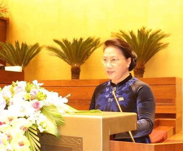 第十四届国会第四次会议:国会将就许多重要问题展开讨论并作出决定 hinh anh 1