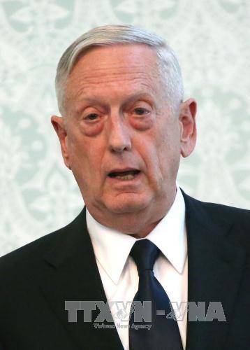 美国防长访问亚洲国家并出席东盟国防部长扩大会议 hinh anh 1