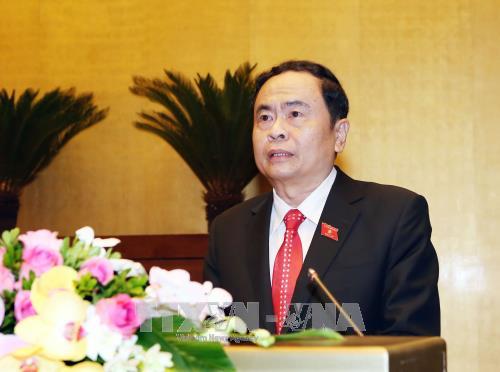 越南第十四届国会第四次会议:阮春福作了2017年经济社会发展计划执行情况的报告 hinh anh 3