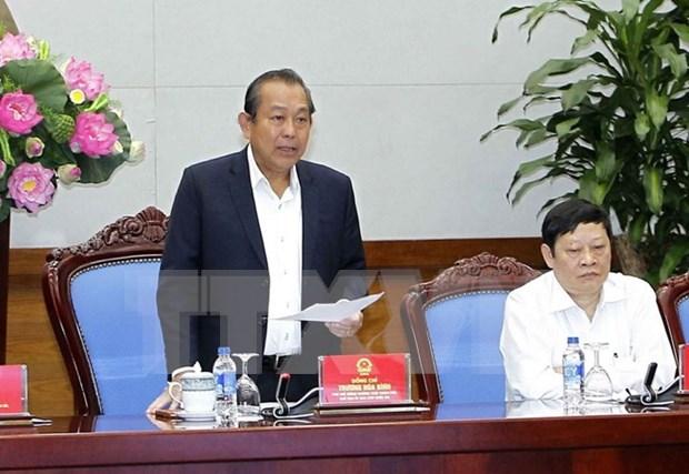 张和平副总理:进一步加强客运安全管理工作 hinh anh 1