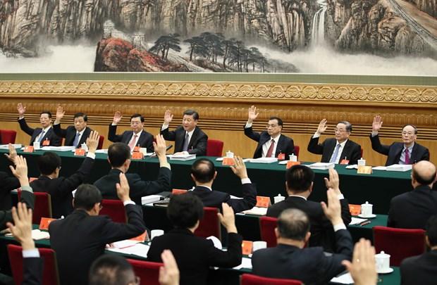 中国共产党第十九次全国代表大会今日在京闭幕 hinh anh 1