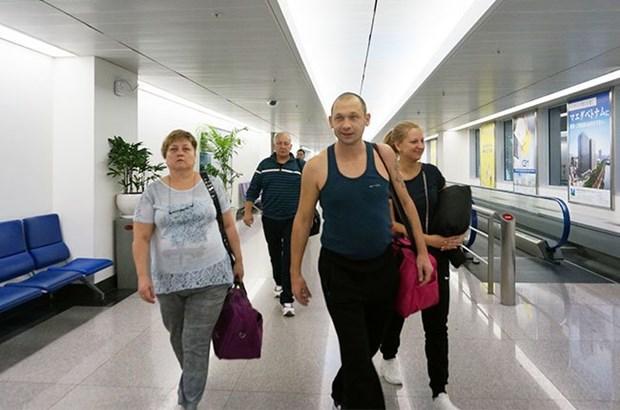 251名俄罗斯游客搭乘旅游报销航班前往胡志明市旅游 hinh anh 1