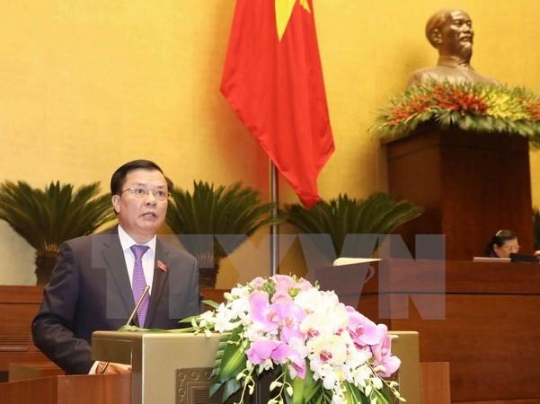 越南第十四届国会第四次会议:集中精力指导国家财政收入管理工作 hinh anh 1