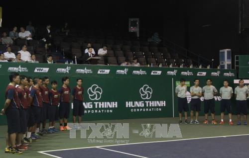 2017年越南兴盛国际网球公开赛昨晚在胡志明市开赛 hinh anh 1
