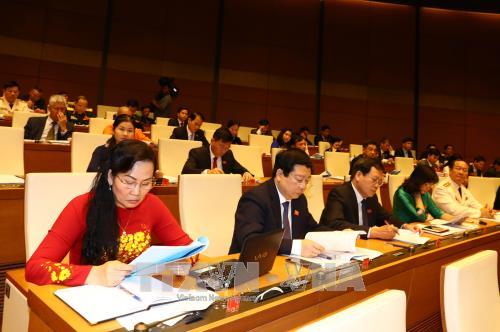 第十四届国会四次会议:为国家发展注入动力 hinh anh 1