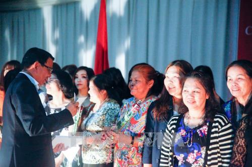 庆祝越南妇女节活动在莫桑比克举行 hinh anh 1