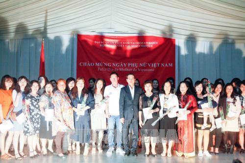 庆祝越南妇女节活动在莫桑比克举行 hinh anh 2