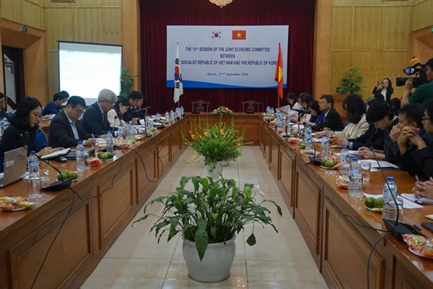 越韩政府间委员会第十六次会议在韩国首尔举行 hinh anh 1