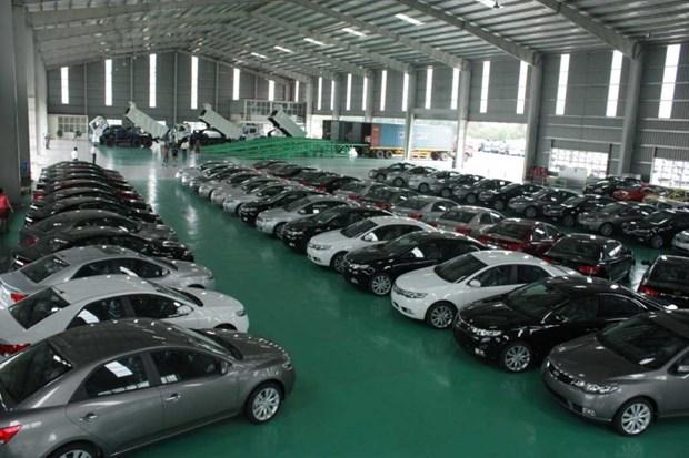 2017年10月越南原装汽车进口量达7.4万辆 hinh anh 1