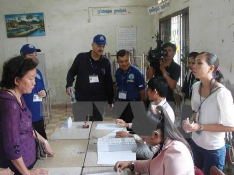 柬埔寨宪法委员会确认四部选举法修正案的合宪性 hinh anh 1