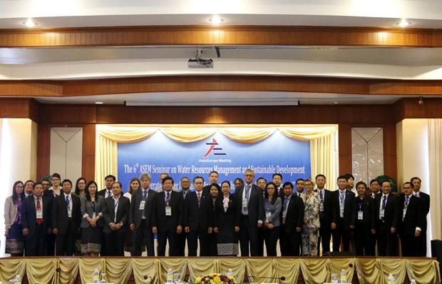有关水资源管理与可持续发展的第六次亚欧对话会在老挝举行 hinh anh 2