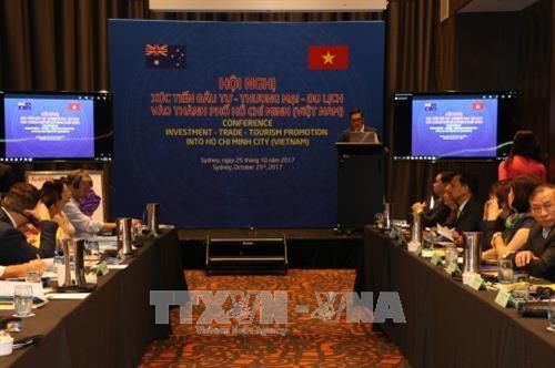 胡志明市贸易投资与旅游促进会议在澳大利亚举行 hinh anh 1