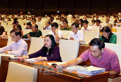 越南第十四届国会第四次会议公报(第三号) hinh anh 1