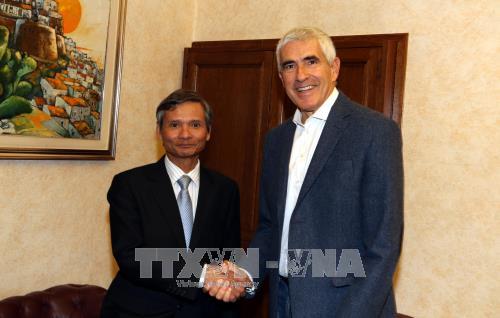 越南与意大利加强财务监督领域的合作 hinh anh 2