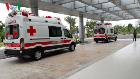 越南卫生部门随时为在岘港举行的APEC领导人会议周做好服务工作 hinh anh 1