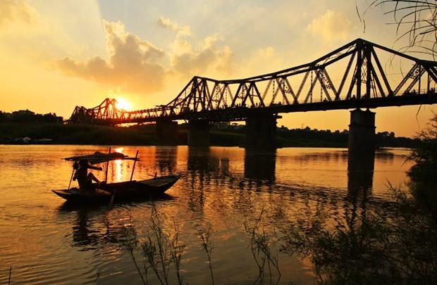 河内的龙边桥 hinh anh 1