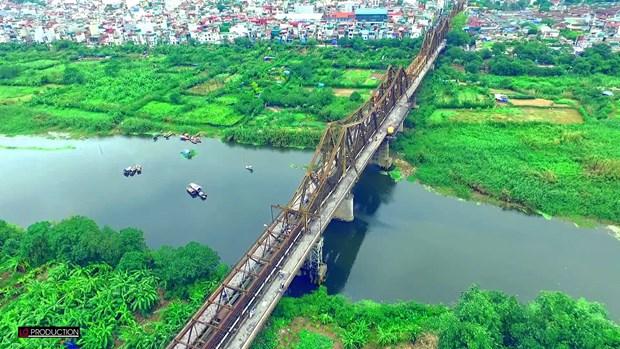 河内的龙边桥 hinh anh 3