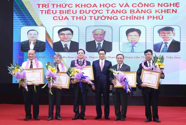 越南53名先进科技知识分子受表彰 hinh anh 1