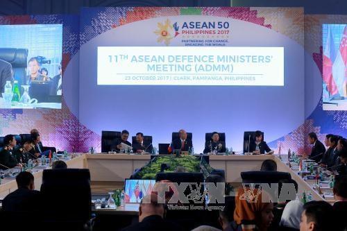 越南积极参加东盟国防部长会议和相关会议 hinh anh 2