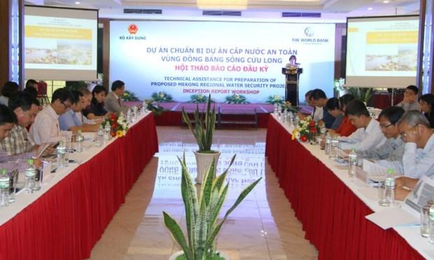 17亿美元投入九龙江三角洲安全供水项目 hinh anh 1