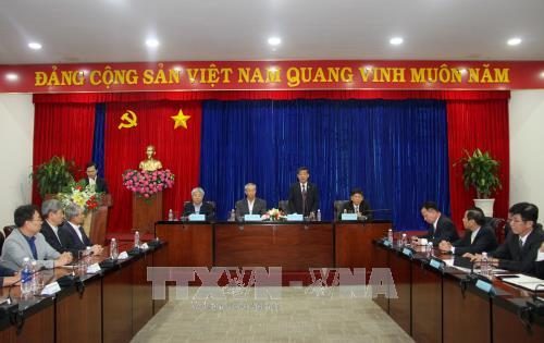 韩国80多家企业代表赴平阳省寻找商机 hinh anh 1