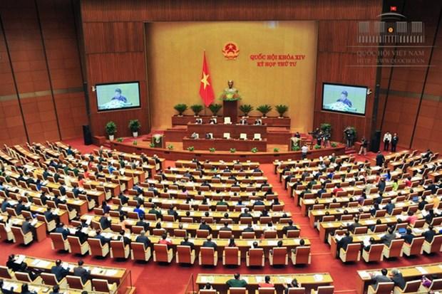 越南第十四届国会第四次会议:国会就龙城国际机场项目可行性报告进行讨论 hinh anh 1