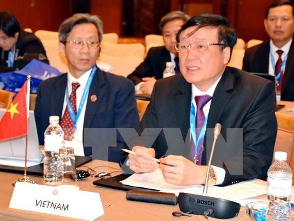 东盟首席法官理事会特别会议在马尼拉召开 hinh anh 1