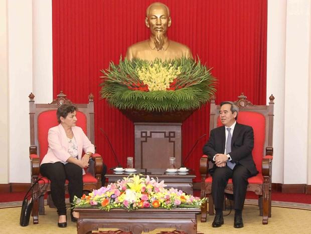 2020年气候变化倡议领导高度评价越南为应对气候变化所做出的努力 hinh anh 2