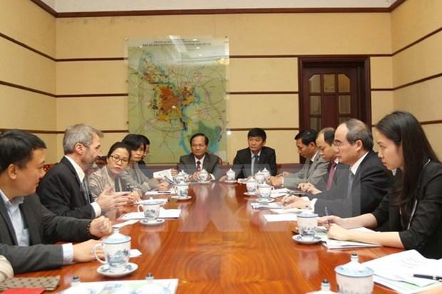 国际金融公司愿支持胡志明市建设成为地区智慧城市典范 hinh anh 1