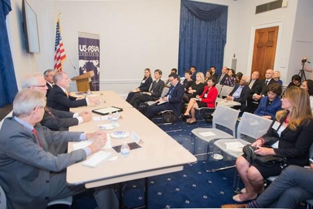 越南驻美国大使范光荣出席有关APEC研讨会 hinh anh 2