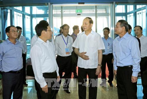 陈大光:全身心投入2017年APEC领导人会议周礼宾工作 hinh anh 1