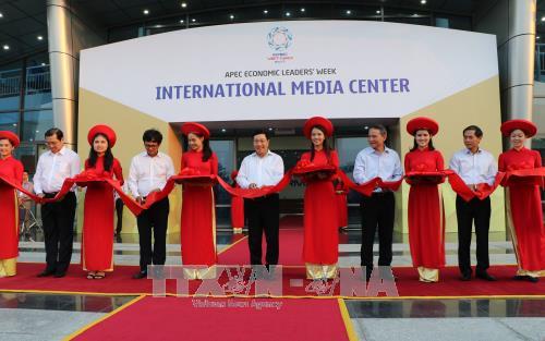 2017年APEC领导人会议周国际新闻中心正式启用 hinh anh 1