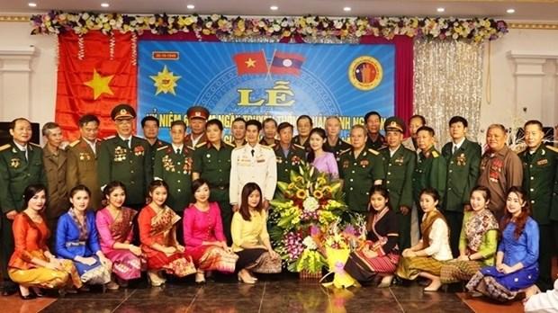 援老越南志愿军和军事专家见面会在山萝省举行 hinh anh 1