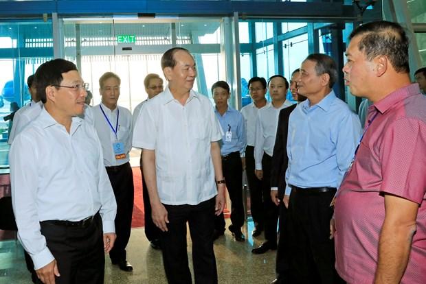 陈大光主席:最大限度地保障出席APEC会议周的各成员经济体领导人及特邀贵宾国元首的绝对安全 hinh anh 1