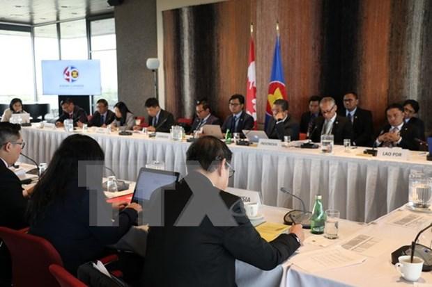 采取切实有效措施 促进东盟和加拿大务实合作 hinh anh 1